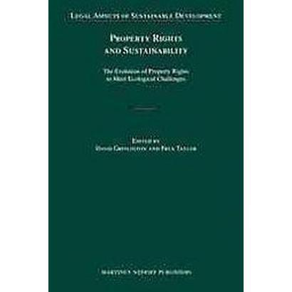 property rights and sustainability
