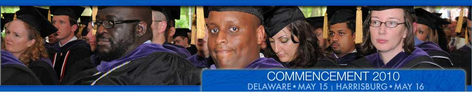 Memories from 2008 Commencement